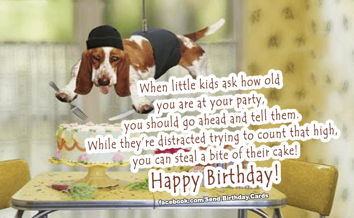 Birthday Cards Images | When little kids ask...