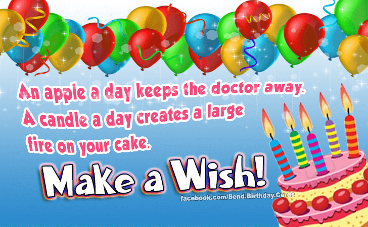 Birthday Cards | Make a Wish!