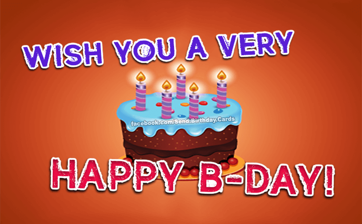 Happy Birthday Cards Images - Wish You a...