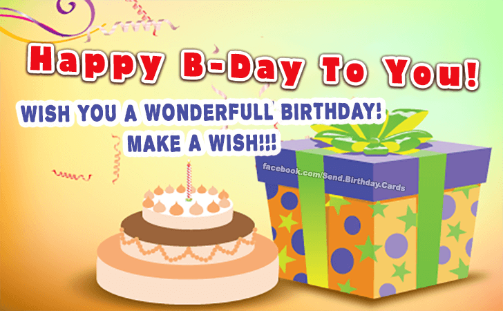 Make a wish!!! | Birthday Cards