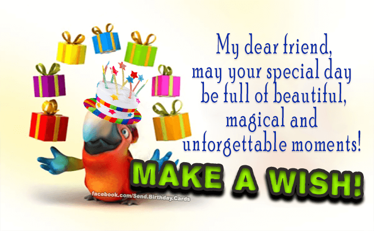 Make a Wish! | Birthday Cards