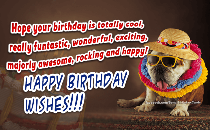 Happy Birthday wishes! - Happy Birthday Cards, Images & Wishes