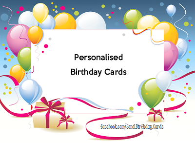 Personalised Birthday Cards – Birthday Cards Personalised