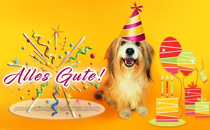 Geburtstagskarten | Alles Gute!