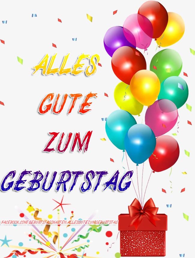 Geburtstagskarten | Alles Gute zum Geburtstag 🎈🎁