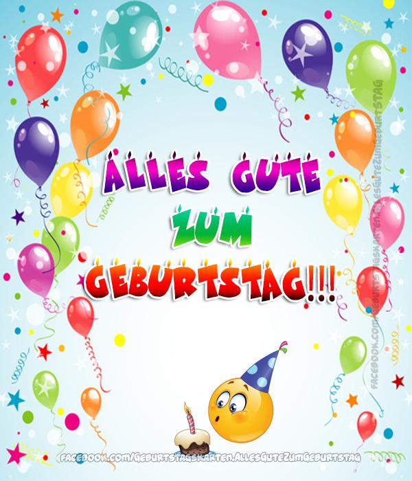 Geburtstagskarten | Alles Gute zum Geburtstag!!! 🎈🎈🎈