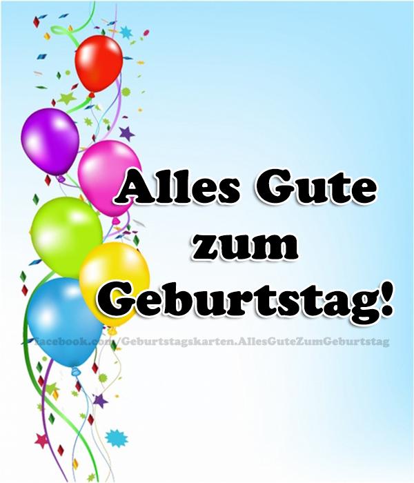 Geburtstagskarten | Alles Gute zum Geburtstag!