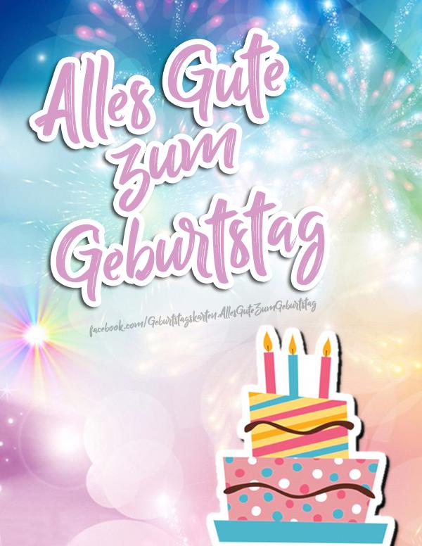 Geburtstagskarten | Alles Gute zum Geburtstag 🎂