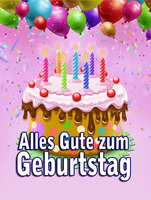 Geburtstagskarten | Alles Gute zum Geburtstag 🎂 - Geburtstagskarten