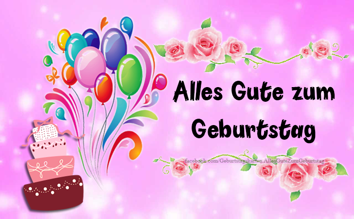 Geburtstagskarten | Alles Gute zum Geburtstag - Geburtstagskarten