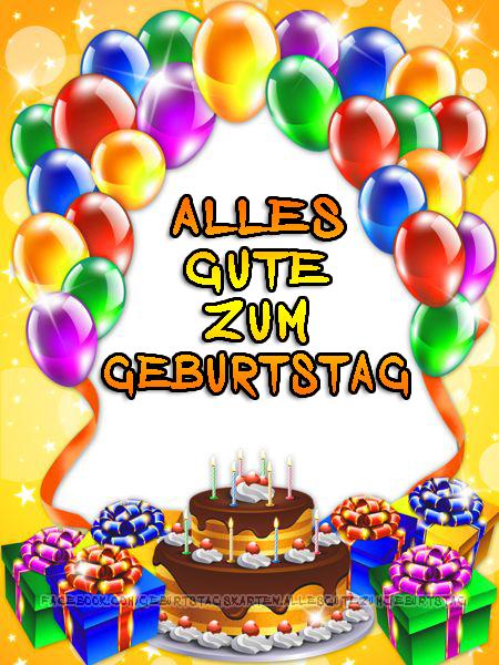Geburtstagskarten   Alles Gute zum Geburtstag 🎈🎉🎂🎁
