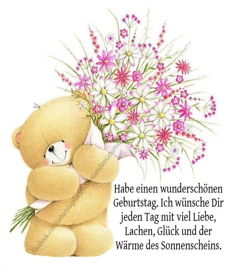 Geburtstagskarten | Habe einen wunderschönen Geburtstag. Ich wünsche Dir jeden Tag mit viel Liebe, Lachen, Glück und der Wärme des Sonnenscheins.