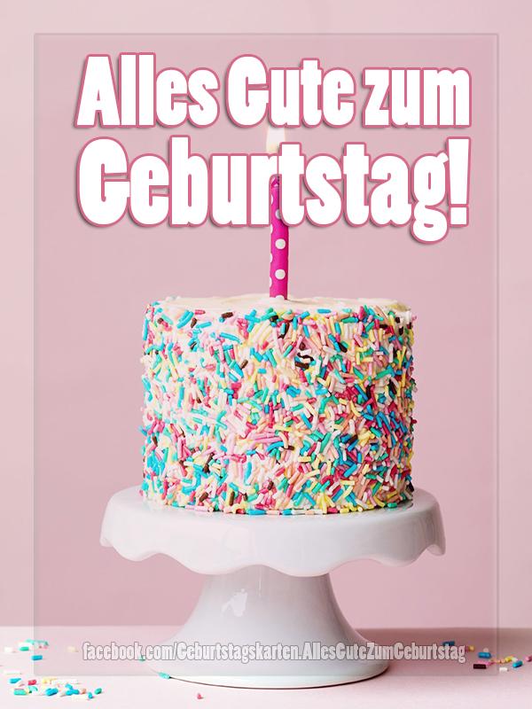 Geburtstagskarten | Geburtstagskarte - Alles Gute zum Geburtstag! 🎂🥳
