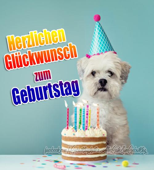 Geburtstagskarten   Geburtstagskarte - Herzlichen Glückwunsch zum Geburtstag 🥳🥳🥳