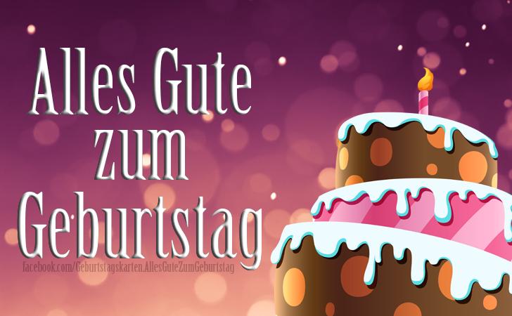 Geburtstagskarten   Geburtstagstorten -  Geburtstag Torte Bilder