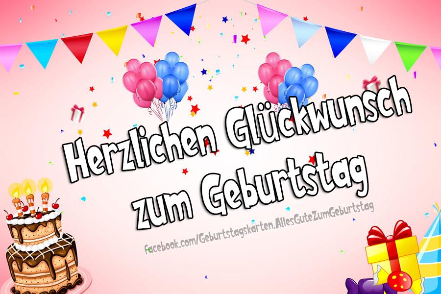 Geburtstagskarten | Herzlichen Glückwunsch zum Geburtstag