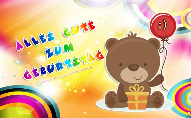 Geburtstagskarten | Alles Gute zum Geburtstag