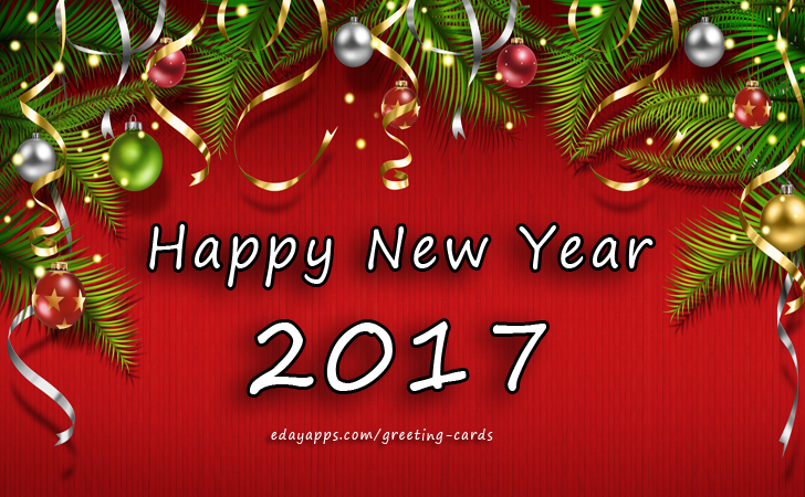 Greeting Cards | Happy New Year 2017