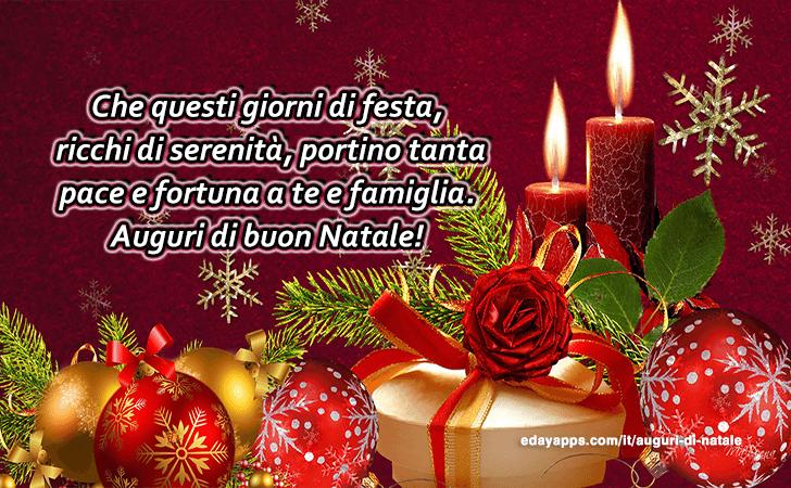 Auguri di natale buon natale for Cartoline di auguri per natale