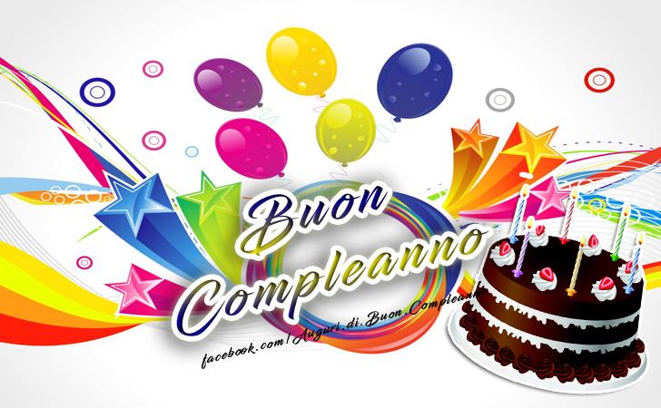 Buon Compleanno torta di compleanno  (Auguri, Frasi e Immagini di Buon Compleanno)