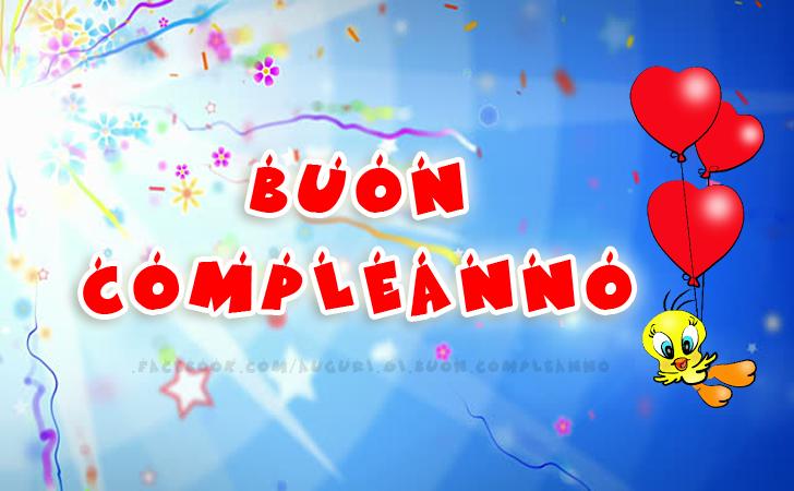 Buon Compleanno.(Frasi e Immagini)