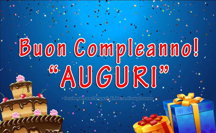 Buon Compleanno! AUGURI(Frasi e Immagini)