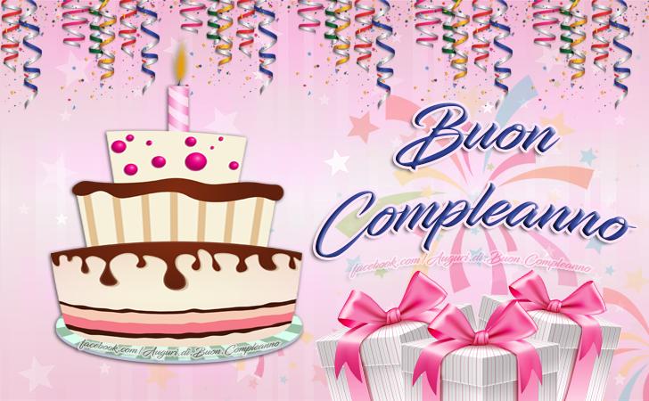Buon Compleanno (Auguri, Frasi e Immagini di Buon Compleanno)