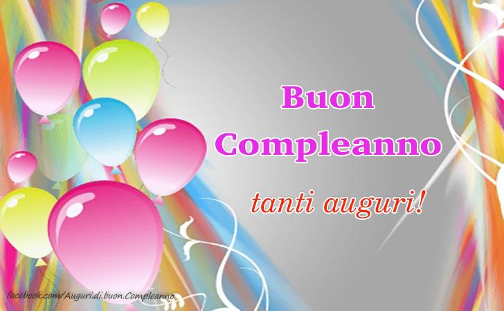 Buon Compleanno! Tanti auguri!(Frasi e Immagini)