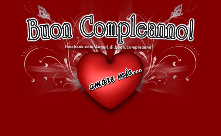 Top Auguri di Buon Compleanno | Amore mio FO05