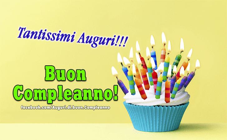 Buon Compleanno! Tantissimi Auguri!(Frasi e Immagini)