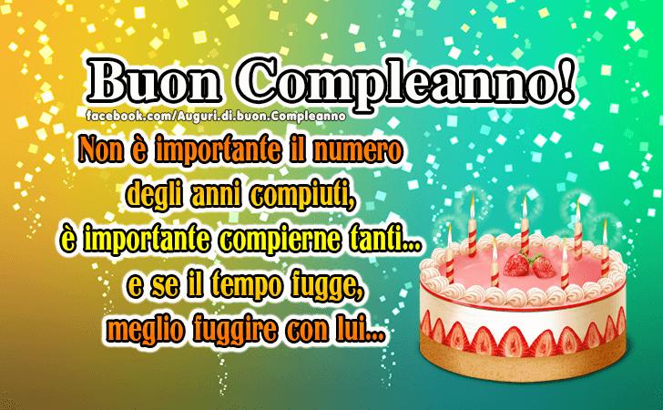 Famoso Auguri di Buon Compleanno | Buon Compleanno! OF36