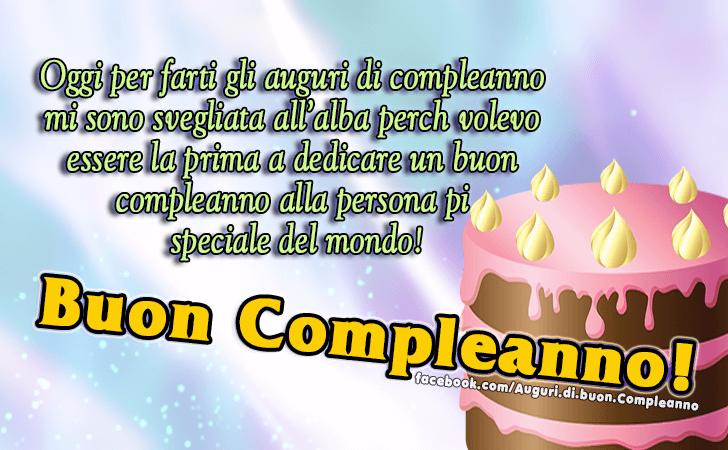Ben noto Auguri di Buon Compleanno | Buon Compleanno! DW33