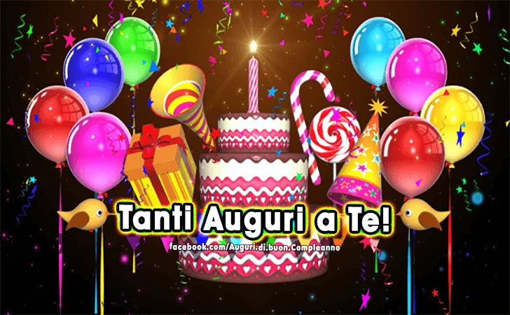 Auguri di buon compleanno buon compleanno for Tanti auguri a te suoneria per cellulari