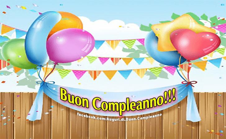 Buon Compleanno! (Auguri, Frasi e Immagini di Buon Compleanno)