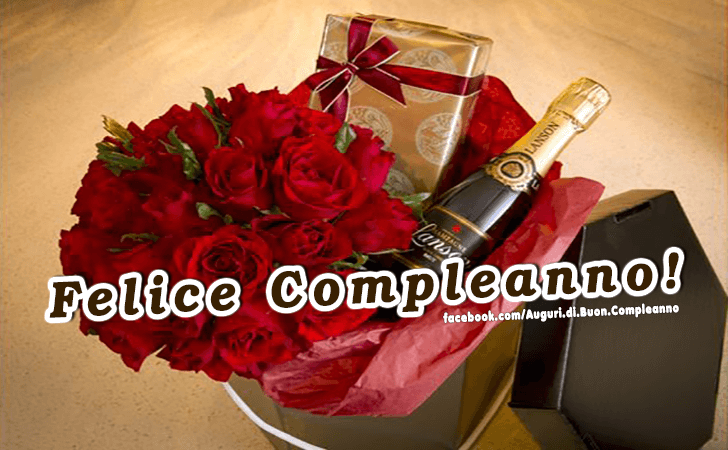 Felice Compleanno! (Auguri, Frasi e Immagini di Buon Compleanno)