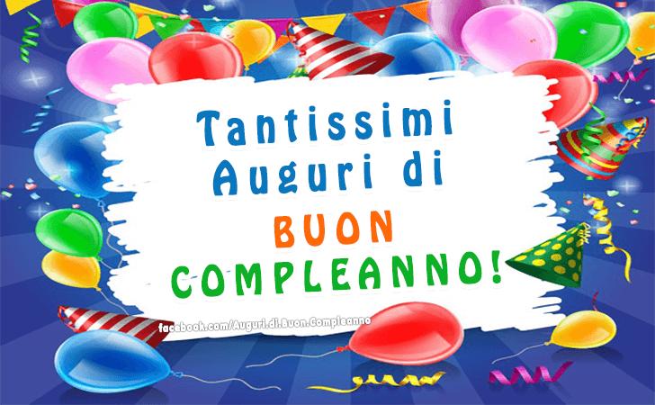 Popolare Auguri di Buon Compleanno | Buon Compleanno NB41
