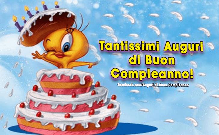 Favorito Auguri di Buon Compleanno | Buon Compleanno WL21