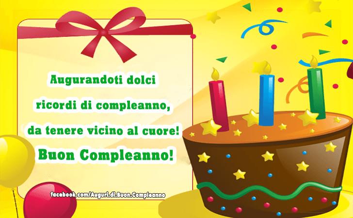 Souvent Auguri di Buon Compleanno | Buon Compleanno KM18