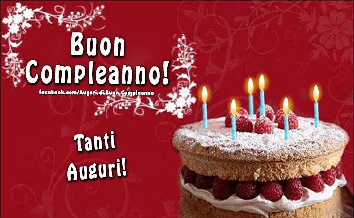 Amato Auguri di Buon Compleanno | Tanti Auguri! BT36