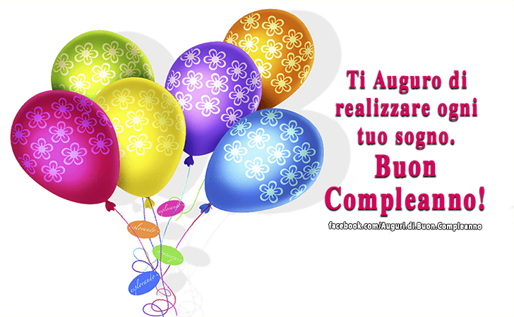 Eccezionale Auguri di Buon Compleanno | Ti Auguro FE49