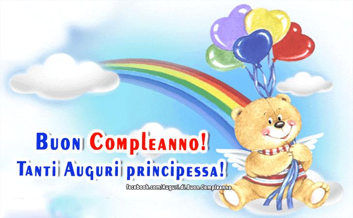 Buon Compleanno! Auguri Piccola principessa!(Frasi e Immagini)