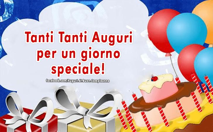 Top Auguri di Buon Compleanno | Tanti Tanti Auguri ZT52