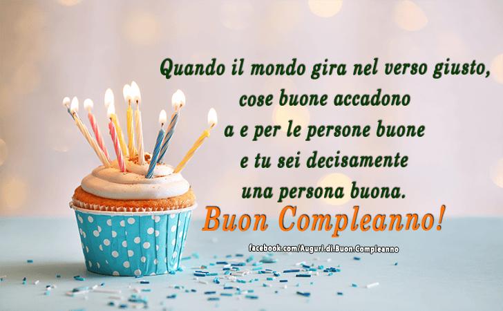 Préférence Auguri di Buon Compleanno | Buon Compleanno QV29