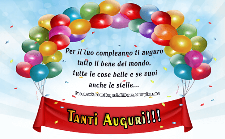 Molto Auguri di Buon Compleanno | Tanti Auguri! YR68
