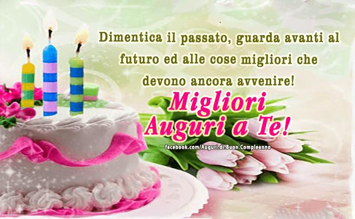 Estremamente Auguri di Buon Compleanno | Migliori Auguri! YE23