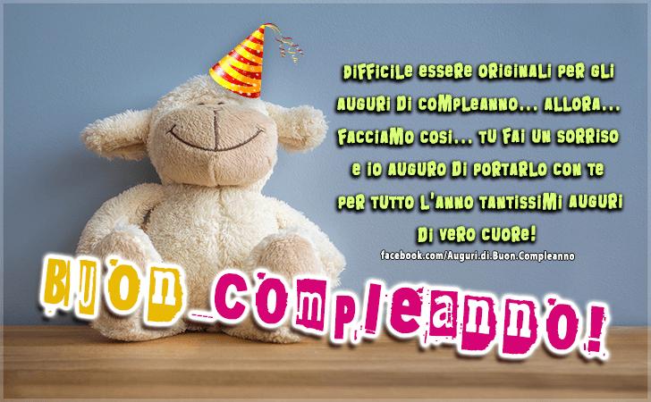 Preferenza Auguri di Buon Compleanno | Buon Compleanno IS13