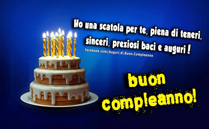 Extrêmement Auguri di Buon Compleanno | Buon Compleanno TS38