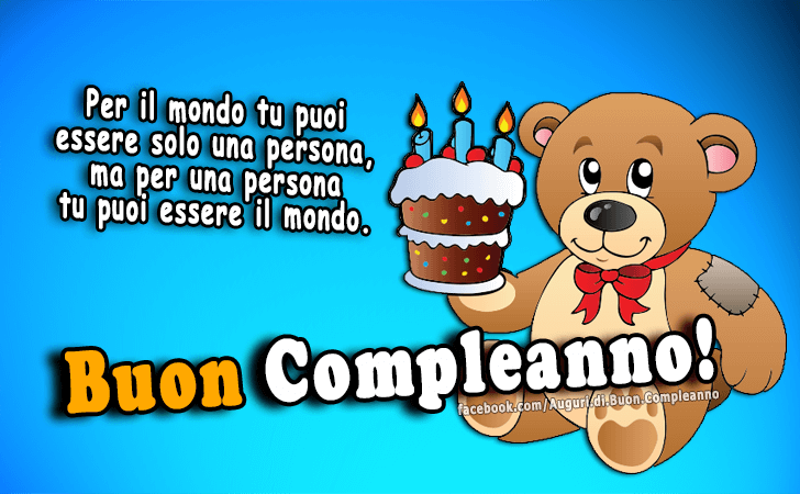 Conosciuto Auguri di Buon Compleanno | Buon Compleanno OX94