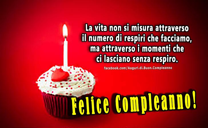 Preferenza Auguri di Buon Compleanno | Felice Compleanno! YP26
