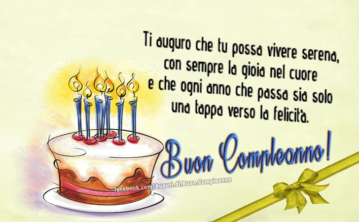 Conosciuto Auguri di Buon Compleanno | Buon Compleanno OL63
